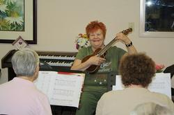 Some share their musical talents!