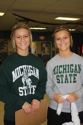 Kaycie and Kinsey Burroughs - 1